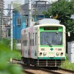 【Tokyo Train Story】夏の緑(都電荒川線)