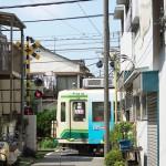 【Tokyo Train Story】路地裏の踏切(都電荒川線)