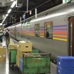 【Tokyo Train Story】寝台特急カシオペアへの搬入作業