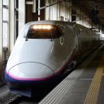 越後湯沢駅で上越新幹線の撮影をする 谷川岳山開き号の旅(七鉄ツアー2) その11