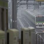 【Tokyo Train Story】ゲリラ豪雨の中を駆ける山手線