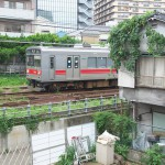 【Tokyo Train Story】ちょっとした高台から東急池上線を見下ろす
