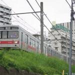 【Tokyo Train Story】築堤上を行く東急池上線