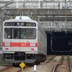 【Tokyo Train Story】トンネルに臨む東急池上線