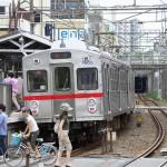 【Tokyo Train Story】東急池上線戸越銀座駅にて