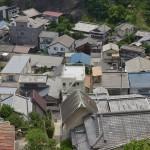 井戸ポンプ、ネコ、鉄道、コーラフロートで呉路地裏散歩が終了する 広島県デスティネーションキャンペーンの旅 その29