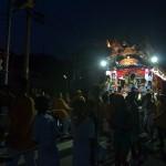 平磯町に夜が来て、平磯三社祭はまたグッと来る雰囲気になる 夏の青春18きっぷの旅 平磯三社祭編 その8