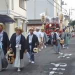 華やかな山車が町中を練り歩く平磯三社祭が始まる 夏の青春18きっぷの旅 平磯三社祭編 その5
