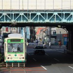 【Tokyo Train Story】ガード下を出る瞬間(都電荒川線)