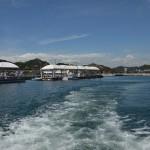 岡山県の宇野から香川県の小豆島まで真っ青な海を行くフェリーに乗る! 岡山たびきっぷで行く瀬戸内の旅 その16