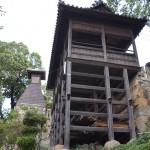 倉敷の阿智神社から美観地区の伝統的建築群を見下ろしてみる 岡山たびきっぷで行く瀬戸内の旅 その2