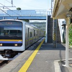 東京湾フェリーの乗船するために内房線の浜金谷駅で下車する 夏の青春18きっぷの旅 たっぷり千葉県編 その17