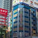 【Tokyo Train Story】秋葉原のビルの隙間から(総武線)