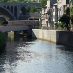 【Tokyo Train Story】丸ノ内線が神田川を越えるために地上に顔を出す