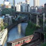 【Tokyo Train Story】神田川を越える丸の内線と総武線