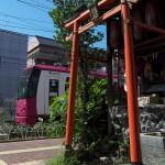 【Tokyo Train Story】鳥居と都電荒川線