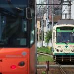 【Tokyo Train Story】三ノ輪橋電停付近でのすれ違い(都電荒川線)