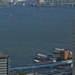 【Tokyo Train Story】浜松町の世界貿易センタービルからゆりかもめを見下ろす