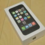 【初めてのiPhone】NTTドコモのiPhone5 32GB スペースグレイの開封の儀!