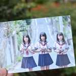 写真展『TOKYO SHUTTER GIRL:2』のDMが出来上がりました!