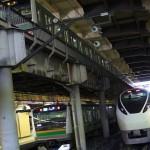 【Tokyo Train Story】上野駅地平ホームにて特急ひたちと普通列車3両を同時に撮ってみる