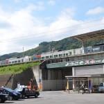 吾妻線万座・鹿沢口駅の駅前風景を紹介します 群馬県万座温泉の旅 その2