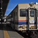 かつて北海道の大地を走っていたひたちなか海浜鉄道湊線のキハ22 冬の青春18きっぷの旅 その9