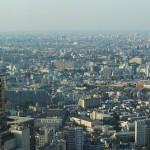 東京都庁からの眺めと中村屋のオムハヤシ