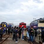 DD51、EF65、EF81レポート ふれあい鉄道フェスティバル その2