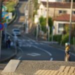 江ノ島に向かう途中でうなむすびを食す 冬の鎌倉散策 その8