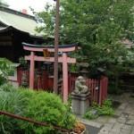 ユニークなタヌキが鎮座する秋葉原の柳森神社 秋葉原ー新宿散歩 その2