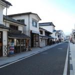 松本市内の中町通りある素敵な建物、カフラスなど 冬の長野旅行2008-2009 その3
