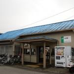 井戸と列車のコラボレーションが見られる松岸駅 春の青春18きっぷの旅 茨城県完乗編 その2
