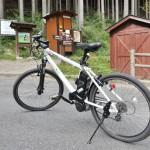 奥多摩から青梅まで自転車で下る途中にある白丸魚道を見学する 初秋の奥多摩トレックリングの旅 その7
