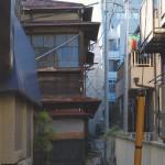 かつての白山三業地に残る待合「松泉」 文京区白山散歩 その2