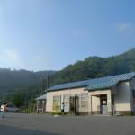 夏に輝く岩泉線岩手刈屋駅 夏の青春18きっぷの旅 その5