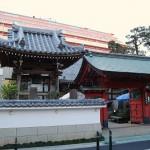 文京区向丘にある西教寺の丸井戸跡