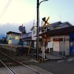 松本電気鉄道大庭駅 冬の長野旅行2008-2009 その6