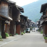 中山道奈良井宿の町並み 夏の長野旅行 その5