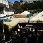 トレインビューを楽しめる飯田橋のカナルカフェ 神楽坂路地裏散歩 その6