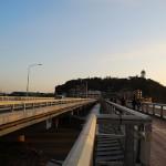 江の島大橋からの風景 冬の鎌倉散策 その9