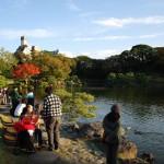 清澄庭園の紅葉を楽しむ 秋の東京散歩 その7