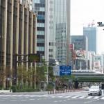 【Tokyo Train Story】休日の日比谷交差点から(東海道新幹線)