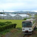 紀州鉄道を望むトレインビューホテル、ビジネスホテル紀の国に宿泊 夏の青春18きっぷの旅第5弾 その10