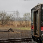 釧網本線塘路駅で雨の列車風景を撮影する ぐるっと道東の旅 その28