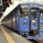 長崎駅でスーパー駅長のたまと出会う 長崎旅行 その23