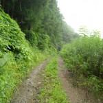 奥羽本線赤岩駅から山道を歩いて集落を目指す 夏の青春18きっぷの旅 その13