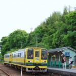 歴史的建造物と井戸があるいすみ鉄道大多喜駅で途中下車 房総半島横断旅行 その10