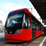 路面電車の万葉線で高岡駅前から越ノ潟へ 秋の北陸旅行 その10