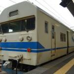 直江津駅からかつての寝台特急列車を改造した419系普通列車に乗る 群馬新潟長野旅行 その13